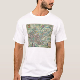Map of Luxembourg, from 'Civitates Orbis Terrarum' T-Shirt