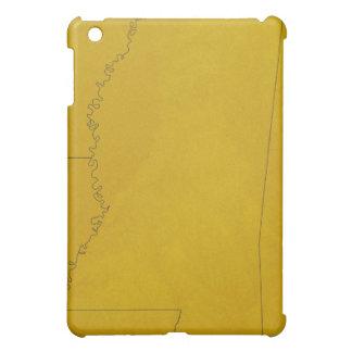 Map of Mississippi iPad Mini Case