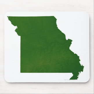 Map of Missouri Mouse Pad