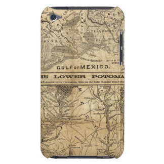 Map of New Orleans and Surrounding Country Case-Mate iPod Touch Case