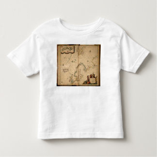 Map of Northern Europe Toddler T-Shirt