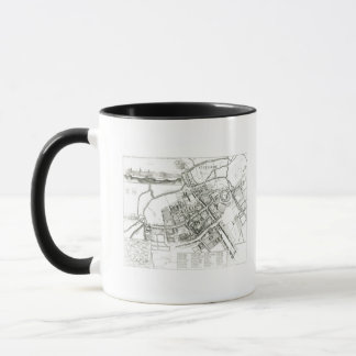 Map of Oxford, 1643 Mug