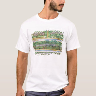 Map of Parma, Siena, Palermo, and Drepanum, from ' T-Shirt