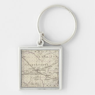 Map of Perry County, Nashville and Carmi Key Ring