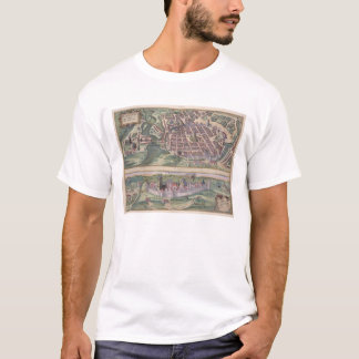 Map of Poznan and Gruczno, from 'Civitates Orbis T T-Shirt