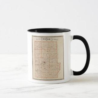 Map of Putnam County Mug