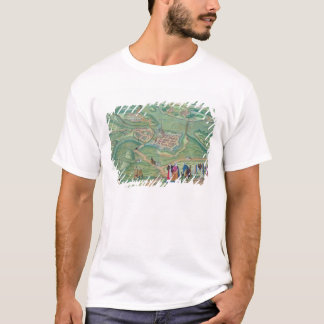 Map of Raab, from 'Civitates Orbis Terrarum' by Ge T-Shirt