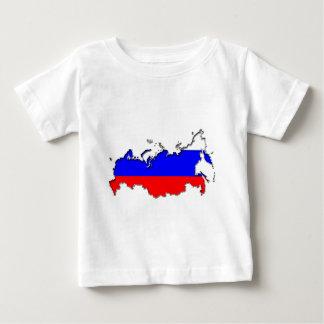 Map of Russia Tee Shirt