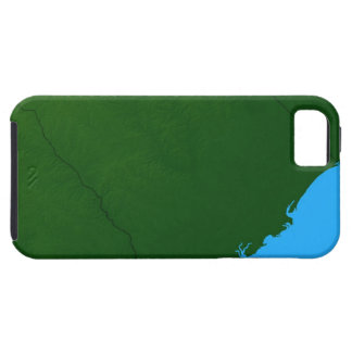 Map of South Carolina 2 Tough iPhone 5 Case