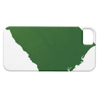 Map of South Carolina iPhone 5 Cases