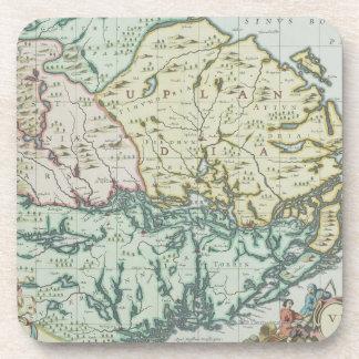 Map of Sweden Coaster