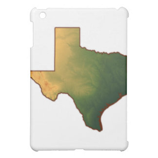 Map of Texas 4 iPad Mini Covers