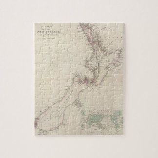 Map of the Colony of New Zealand Jigsaw Puzzle