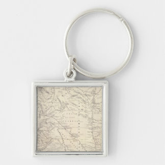 Map of the Great Chaco and neighboring regions Key Ring