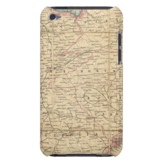 Map of The Seat of Civil War In America iPod Case-Mate Cases