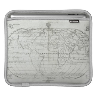 Map of the World 17 iPad Sleeve
