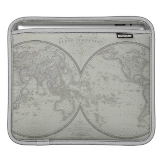 Map of the World 9 iPad Sleeve