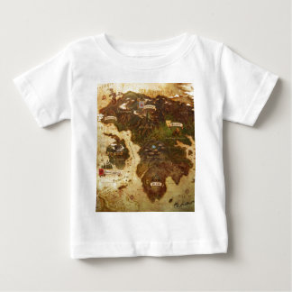 Map of the world baby T-Shirt