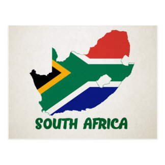 MAP POSTCARDS ♥ South Africa