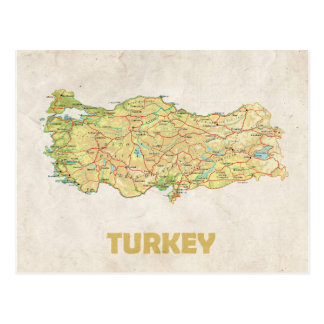 MAP POSTCARDS ♥ Turkey