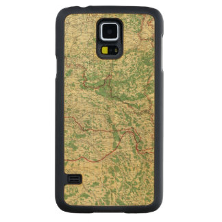 Map Western Front Maple Galaxy S5 Slim Case