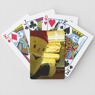 Maple Bacon Gnome Bicycle Playing Cards
