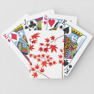 Maple Bicycle Playing Cards