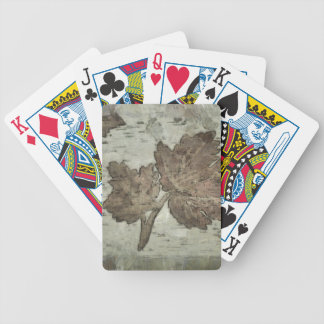 Maple leaf bicycle playing cards