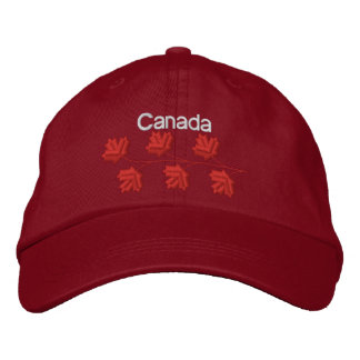Maple Leaf Canada Embroidered Cap
