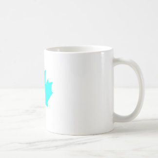Maple Leaf CyanTransp The MUSEUM Zazzle Gifts Coffee Mug