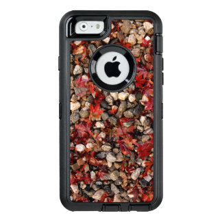 Maple Leaves and Stones OtterBox Defender iPhone Case