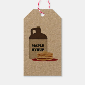Maple Syrup Gift Tag
