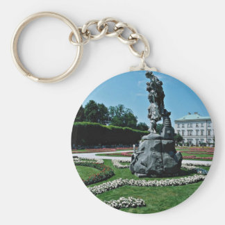 Marabell Gardens, Salzburg, Austria  flowers Key Ring