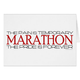 Marathon - The Pride is Forever – Good Luck Greeting Card