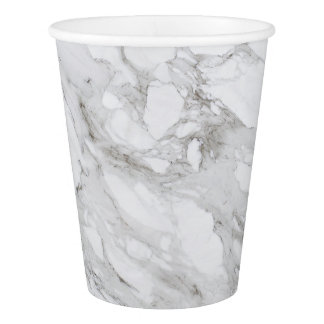 Marble Paper Cup