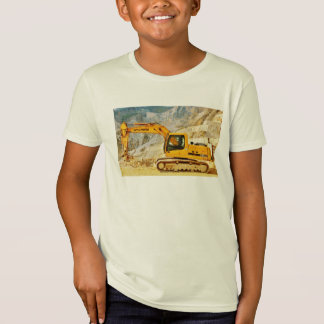 Marble Quarry Vehicle, Children's Organic T-Shirt