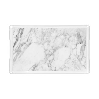 Marble Vanity Tray - Small Rectangle