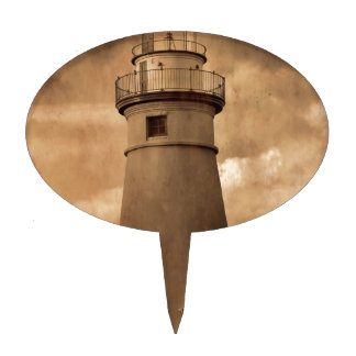 Marblehead Lighthouse Cake Toppers