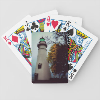 Marblehead lighthouse playing cards