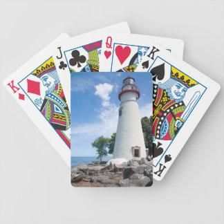 Marblehead Lighthouse Poker Deck