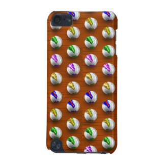Marbles on Wood Pattern iPod Touch 5G Cover
