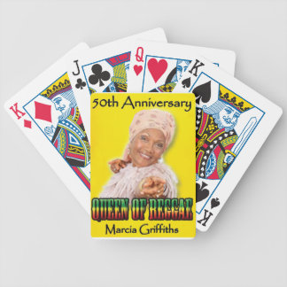 Marcia Griffiths the Reggae Queen-50th Anniversary Bicycle Playing Cards