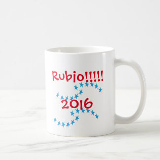 Marco Rubio 2016 Stars Election Gear Coffee Mug