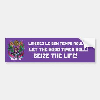Mardi Gras Carnival Event  Please View Notes Bumper Sticker