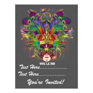 Mardi Gras Carnival Event  Please View Notes Custom Invites