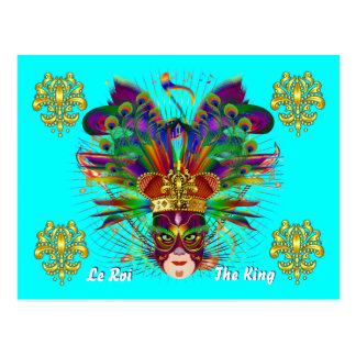 Mardi Gras Carnival Event Postcard