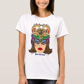Mardi Gras Casino Queen 2 Plse View Artist Comment T-Shirt
