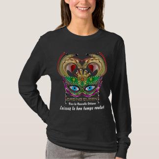 Mardi Gras Casino Queen Read About Design Below T-Shirt