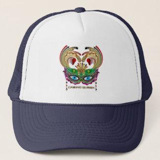 Mardi Gras Casino Queen Read About Design Below Trucker Hat