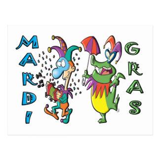 Mardi Gras Celebration Postcard